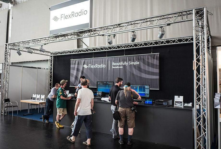 Flex Radio_Ham Radio_2018_Friedrichshafen_3_Website